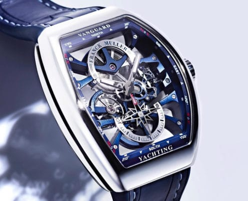 Franck Muller Genève | Vanguard Yachting Anchor™ SKELETON