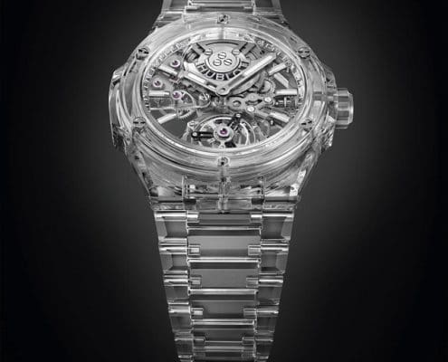 BIG BANG INTEGRAL TOURBILLON FULL SAPPHIRE: UNA HECHA DEL ZAFIRO PURO